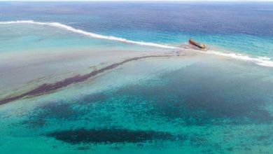 Foto de Óleo vaza de cargueiro japonês nas Ilhas Maurício