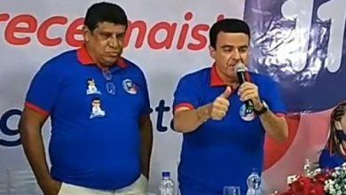 Foto de SAJ: Dr. Christian Ferraz anuncia Coronel Matias como seu candidato a vice-prefeito