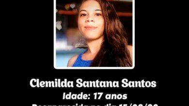 Foto de Elísio Medrado: Família procura por jovem desaparecida