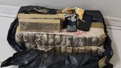 Foto de Salvador: Polícia prende suspeito e apreende 30 tabletes de maconha que iriam para Itaparica