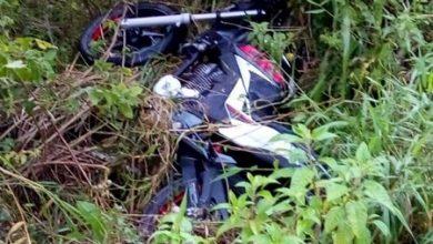Foto de Duas pessoas morrem em colisão frontal entre motocicletas em Maragojipe