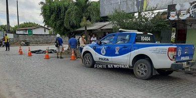 Foto de Cruz das Almas: Homem morre atropelado por caminhão na Rotatória da Rodoviária