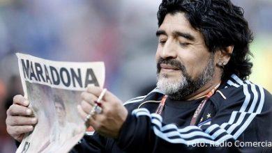 Foto de Diego Maradona morre aos 60 anos, após parada cardiorrespiratória