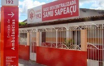 Foto de Sapeaçu: Serviço do SAMU é suspenso após profissionais testarem positivo para a Covid-19