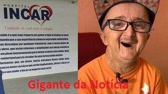 Foto de Vaquinha em prol de Jotinha é fake news; família disponibilizará conta bancária para ajuda pelo Instagram do locutor
