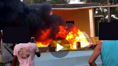 Foto de Populares destroem móveis de residência após criança ser estuprada em Valença
