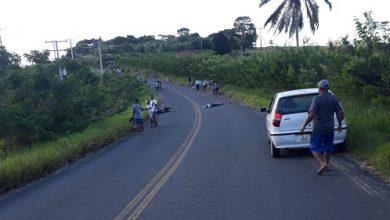 Foto de Acidente envolvendo três motos na BA 540 entre Mutuípe e Amargosa deixa feridos