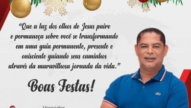 Foto de Mensagem do vereador Chico de Dega de Santo Antônio de Jesus