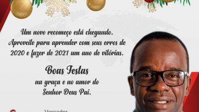 Foto de Mensagem do vereador Cristiano Sena – Santo Antônio de Jesus
