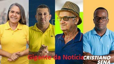 Foto de SAJ: Dalva Mercês, Danilo do Alto, Dema do Leite e Cristiano Sena deixarão o grupo de Rogério Andrade para apoiar Genival Deolino