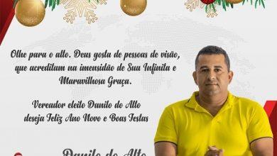 Foto de Mensagem do vereador eleito Danilo do Alto – Santo Antônio de Jesus