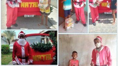 Foto de SAJ: Prefeitura entrega cestas básicas e kits de proteção em ação de Natal