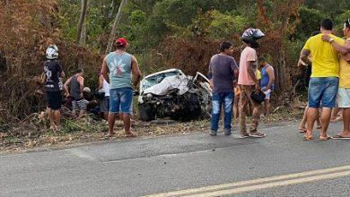 Foto de Ubaíra: Acidente com vítima fatal na BR 420 próximo ao Jenipapo