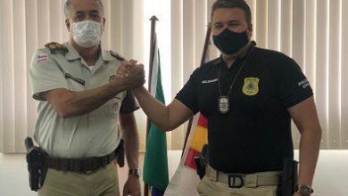 Foto de SAJ: 14º BPM e 4ª Coorpin se reúnem para traçar estratégias de segurança e combate ao crime