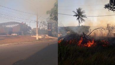 Foto de Fala Povo: Incêndio atinge área de preservação e nascente no Lot. Jardim Teresópolis e assusta moradores em SAJ