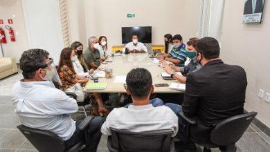 Foto de Gestão municipal se reúne com representantes de empresa licitada para atualização de PDDU