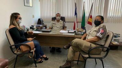 Foto de Prefeitura de SAJ e Polícia Militar discutem implantação de 1ª Companhia na feira livre