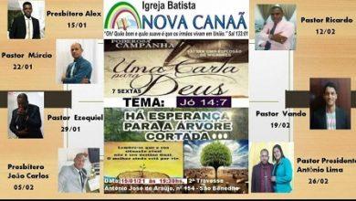 """Foto de SAJ: Igreja Batista Nova Canaã inicia campanha """"Uma carta para Deus"""", com tema """"Uma árvore Cortada"""""""