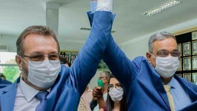 Foto de Cruz das Almas: Ednaldo Ribeiro e seu vice André Eloy tomam posse; prefeito anuncia nomes do primeiro escalão do governo