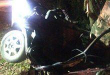 Foto de Trânsito: Jovens morrem em acidente de carro na noite deste domingo em Mar Grande