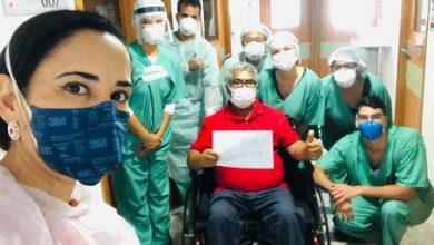 Foto de Vice-prefeito reeleito de Dom  Macedo Costa tem alta do hospital após tratamento contra a Covid-19