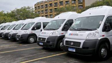 Foto de Governo entrega 33 vans para atender 34 municípios de 13 Consórcios Interfederativos de Saúde