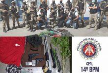 Foto de Operação SAJ em Paz: Polícia apreende arsenal com 06 armas e drogas; veja todo material que foi encaminhado para DP