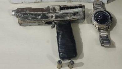 Foto de Castro Alves: Homem é preso com arma de fabricação caseira