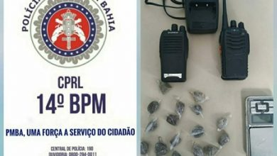 Foto de Muniz Ferreira: Polícia apreende material ilícito no Onha