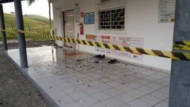 Foto de Posto de combustível é explodido por bandidos armados em Muniz Ferreira