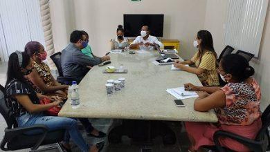 Foto de SAJ: Gestores municipais dialogam com portadores de deficiência visual
