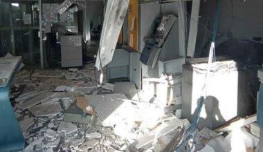 Foto de Criminosos explodem duas agências bancárias durante a madrugada em Tanque Novo