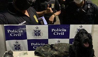 """Foto de Um morre e outro é preso na operação  """"Cidade Heroica"""", contra o tráfico em Cachoeira"""