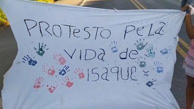Foto de Morre em Salvador o pequeno Isaque, bebê que foi transferido depois de manifestação da família em SAJ