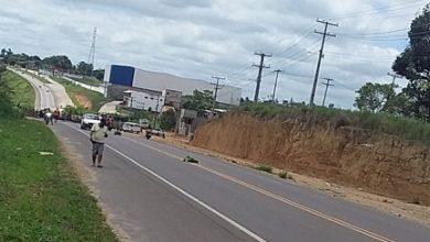 Foto de Acidente entre motos deixa 3 feridos na BA-046 em Santo Antônio de Jesus