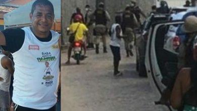 Foto de Polícia chega na festa de aniversário do ex-jogador Vampeta e 19 pessoas são conduzidas para Delegacia