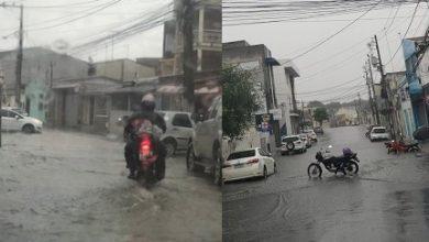 Foto de Chuva forte causa transtornos em ruas e avenidas de Santo Antônio de Jesus