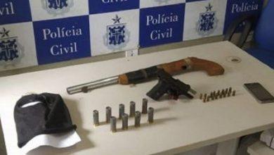 Foto de Polícia apreende armas e munições e frustra ação de grupo armado em Castro Alves; um foi preso