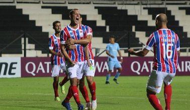 Foto de Bahia começa na Copa Sul-Americana com um empate fora de casa
