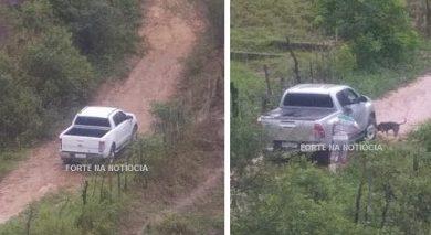 Foto de Veículos utilizados na explosão da Agência do Banco do Brasil de Sapeaçu foram encontrados em Cruz das Almas