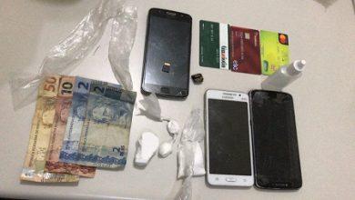 Foto de Itatim: Polícia prende três e apreende drogas em festa do pó
