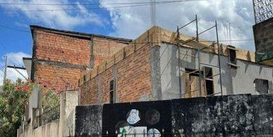 Foto de Salvador: Laje de igreja desaba e três pessoas ficam feridas no Lobato