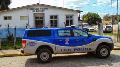 Foto de Sapeaçu: Casal envolvido com roubos a bancos é preso em motel