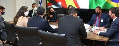 Foto de Secretários de Santo Antônio de Jesus se reúnem com ministro e parlamentares em Brasília