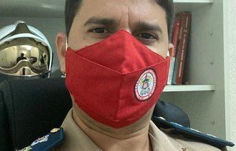 Foto de SAJ: Ten Cel Alcântara Diz é o novo comandante do 16º Grupamento do Corpo de Bombeiros