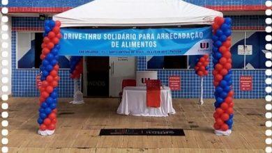 Foto de Polo EAD da Unijorge de Santo Antônio de Jesus promove drive-thru solidário para arrecadação de alimentos