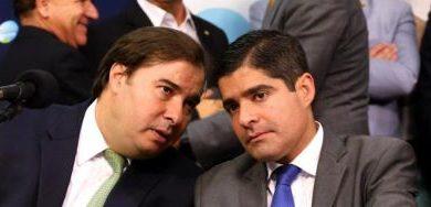 Foto de Bancada do DEM na Câmara pede expulsão de Rodrigo Maia após ofensas a ACM Neto