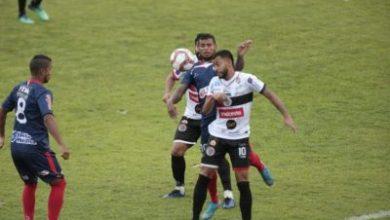 Foto de Atlético e Bahia de Feira empatam na primeira partida da final com emoção até o fim