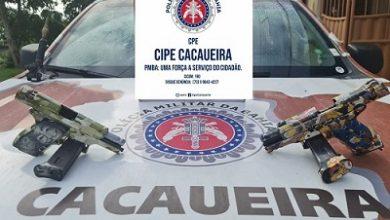 Foto de Três suspeitos de roubar banco tombam em confronto com a polícia no entroncamento de Laje
