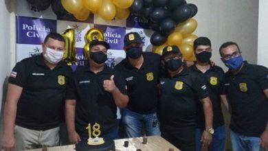 Foto de Jovem comemora aniversário com tema 'Polícia Civil' em Cruz das Almas